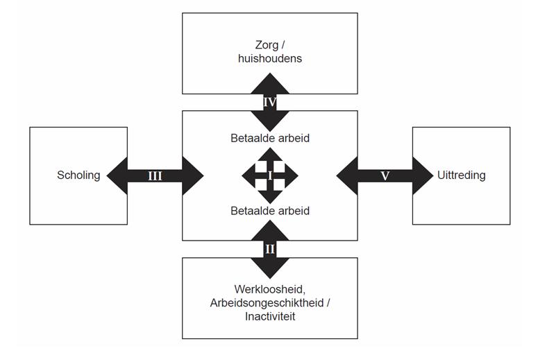 TAM model transitionele arbeidsmarkt, door prof. dr. Ton Wilthagen