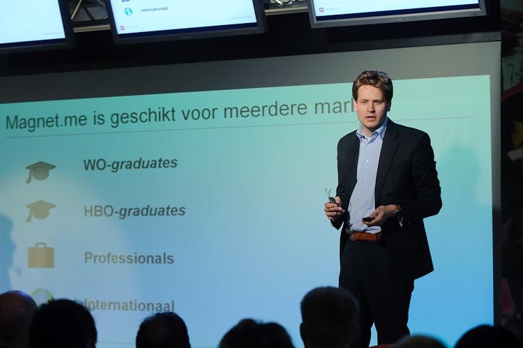 Magnet-me, presentatie tijdens FlexInnovatieFonds finale 2013