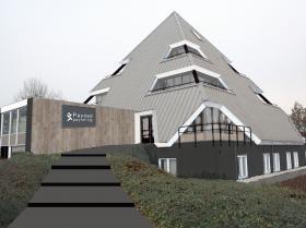 Payned kantoorpand 'Piramide' te Staphorst