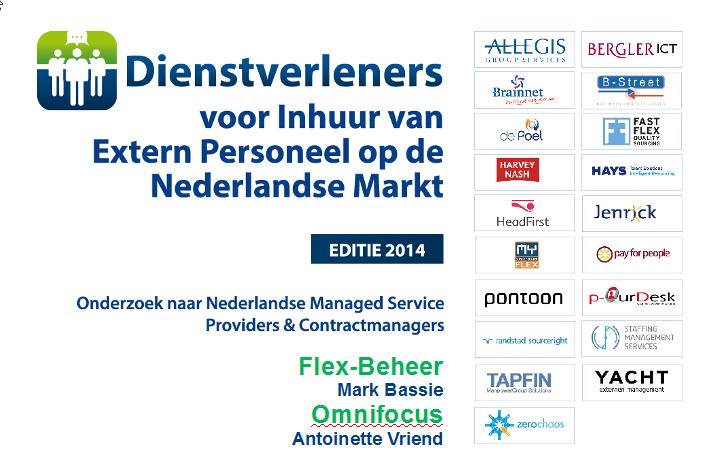 Flex-Beheer, Onderzoek MSP-aanbieders, editie 2014