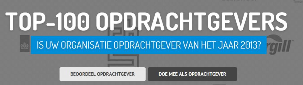 Top-100 Opdrachtgevers.nl