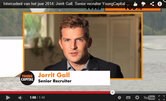 Filmpje Jorrit Gall, Intercedent van het Jaar 2014