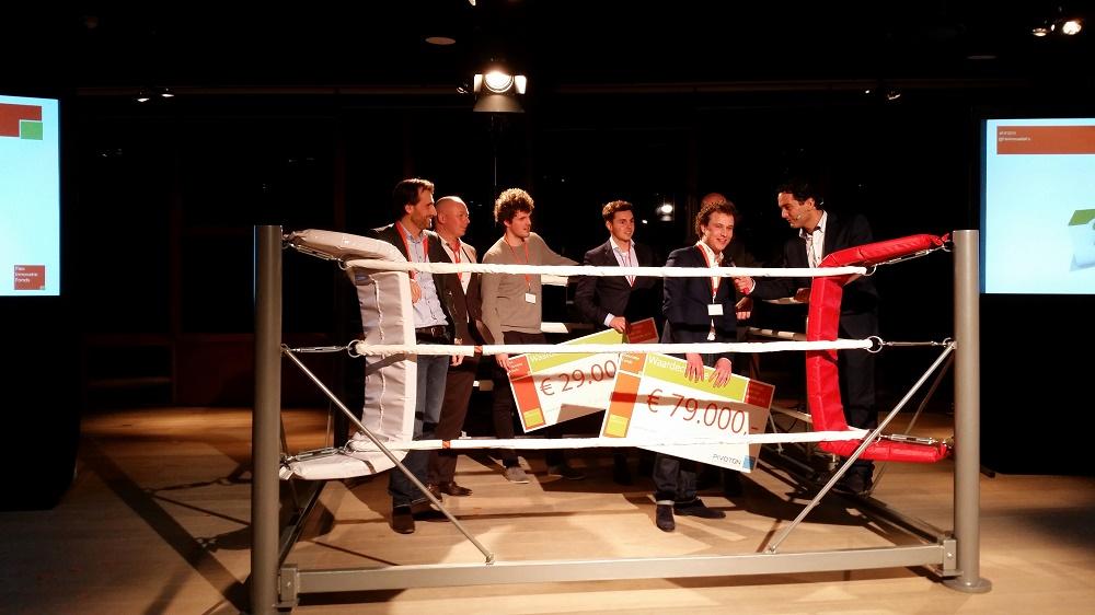 Finale FlexInnovatieFonds, in de boksring: de winnaars Valory en Flipbase