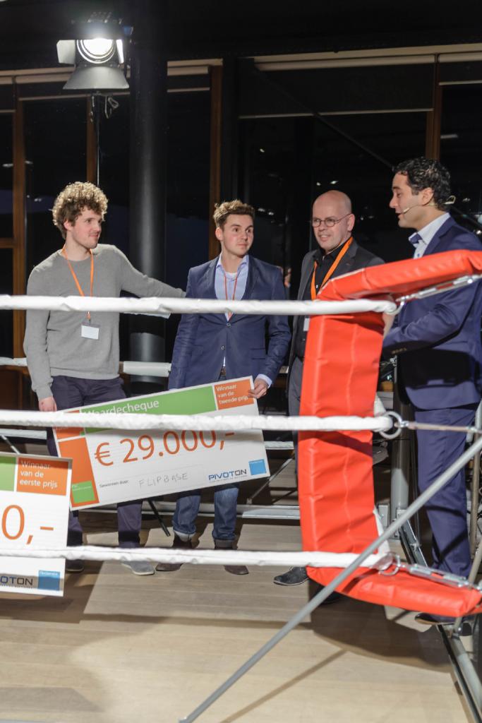 Flipbase wint tweede prijs FlexInnovatieFonds 2015