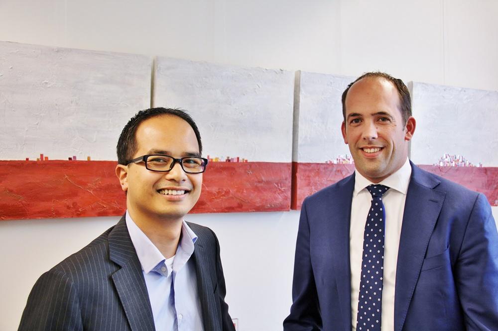 Brainnet, Frank Goedhart (links) en Christoph van der Stelt (rechts) interview FlexNieuws