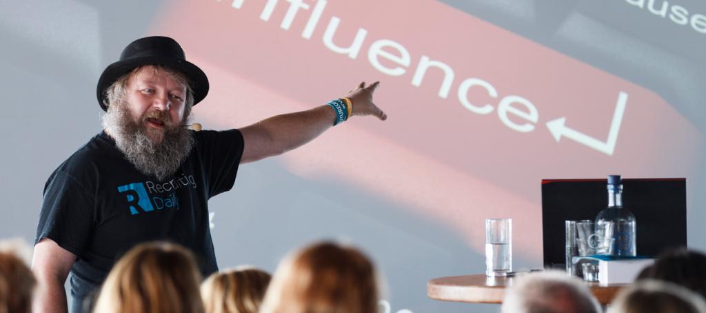 Bill Boorman, tijdens Recruitment Innovation Event 2015