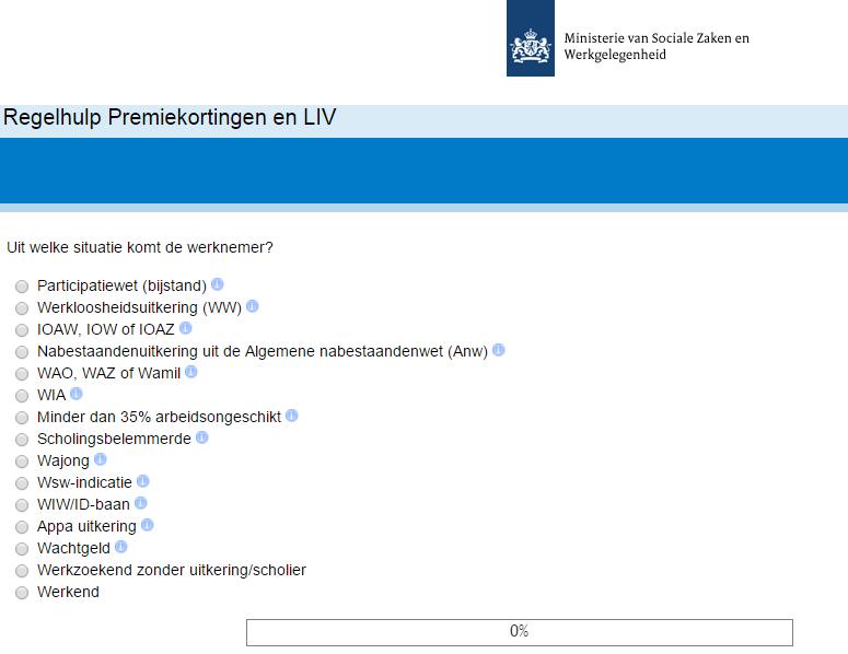 Regelhulp premiekortingen en LIV