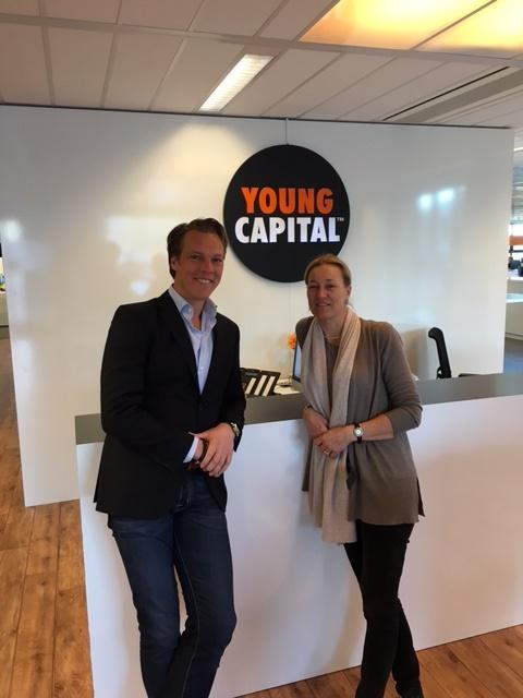 Bram Bosveld, YoungCapital, in gesprek met Femke van Soest, FaseVijf