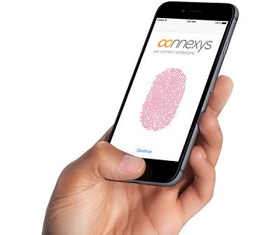 Connexys - solliciteren met vingerscan