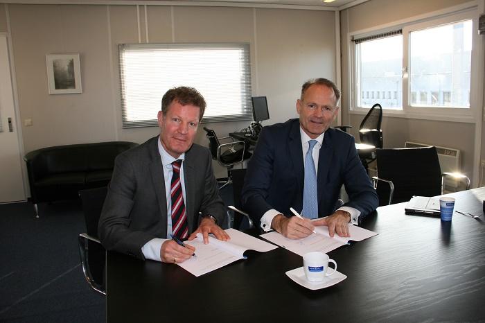 Unique ondertekening van de overeenkomst met Rexel