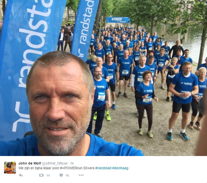 John de Wolf - twitter +Powerrun - Randstad