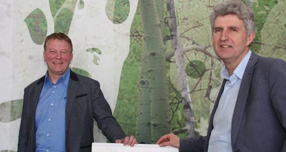 Martin van Veen en John Tetteroo - Gemeente Emmen - interview FlexNieuws