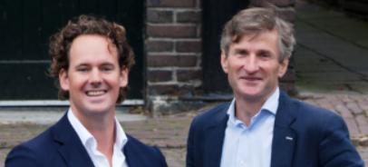 Lars Evers en Noel Wilson, oprichters van Jellow