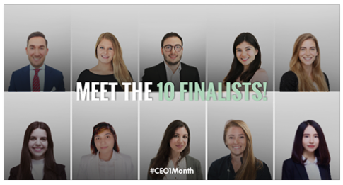 10 Finalists CEO for One Month 2016 - Adecco Way to Work