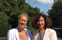 Femke van Soest interviewt Annemarie Muntz voor FlexNieuws