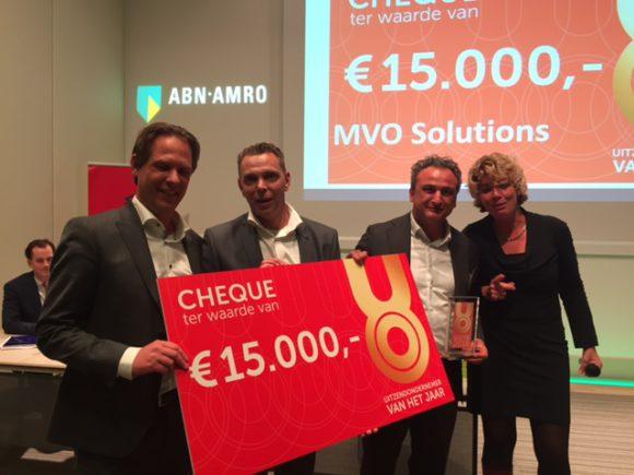 MVO Solutions winnaar Uitzendondernemer van het Jaar 2016