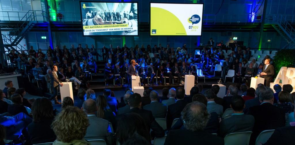 ABU, Het Nationale Arbeidsmarktdebat, 7 november 2016, Den Haag