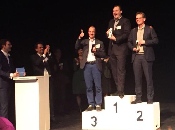 FD Gazellen 2016, winnaars regio West, categorie Grote bedrijven