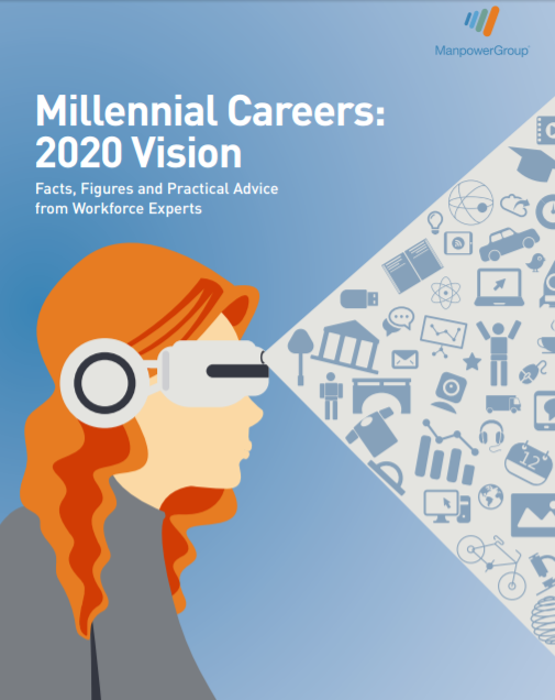 Millennials Careers, 2020 Vision, ManpowerGroup, zie rapport