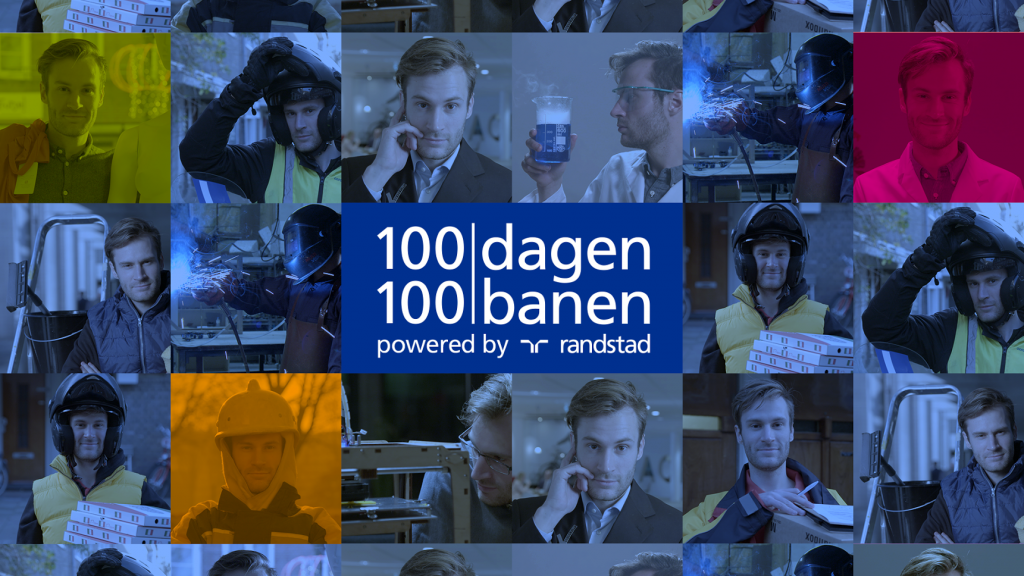100dagen100banen, powered by Randstad