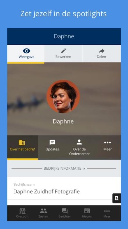 KvK Connect app - Zet jezelf in de spotlights
