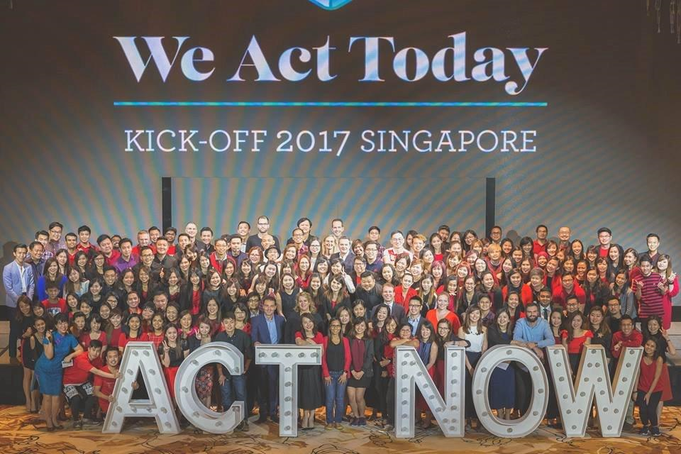 Adecco Singapore - annual Kick Off 2017