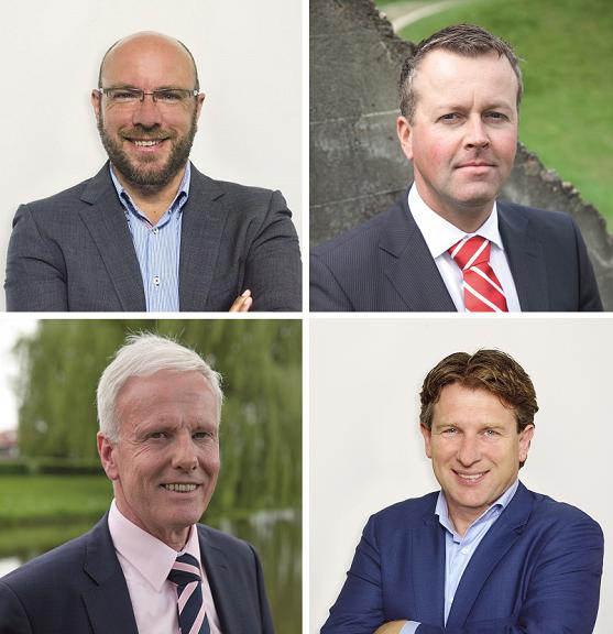 HeadFirst Source Group, directie Gert-Jan Schellingerhout, Edwin Prijden, Mike Korenvaar, Henk Zwijnenberg