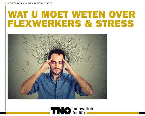 TNO factsheet flexwerkers en werkstress