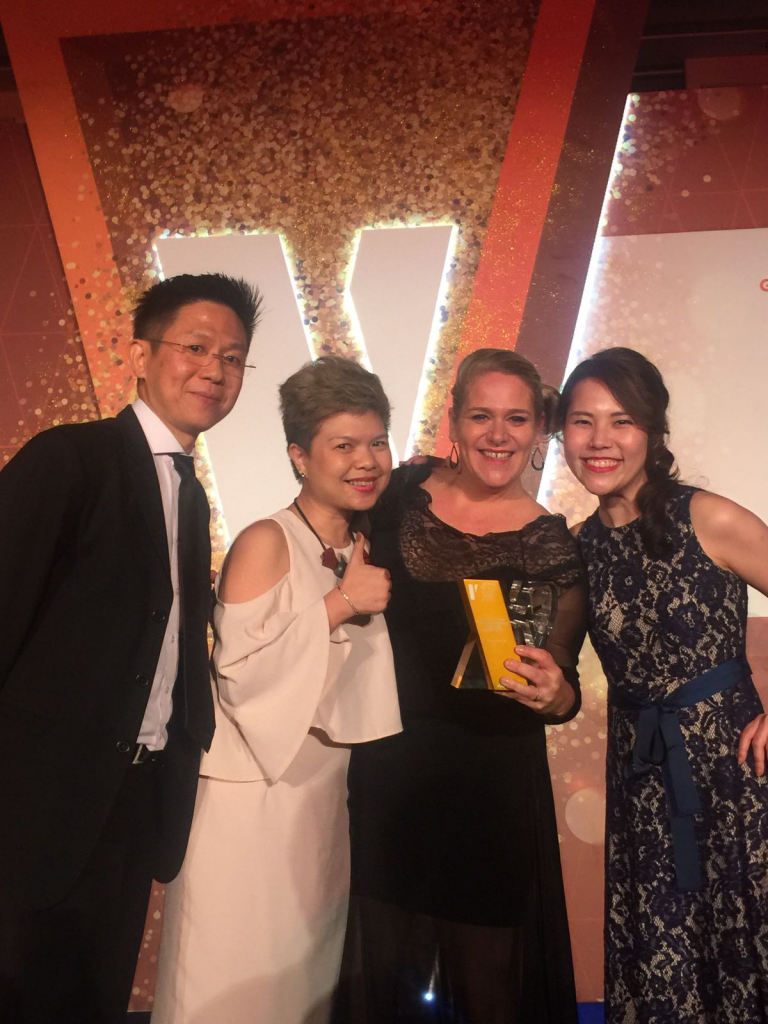 Winner of the golden award - HR Vendor of the Year 2016- non management roles