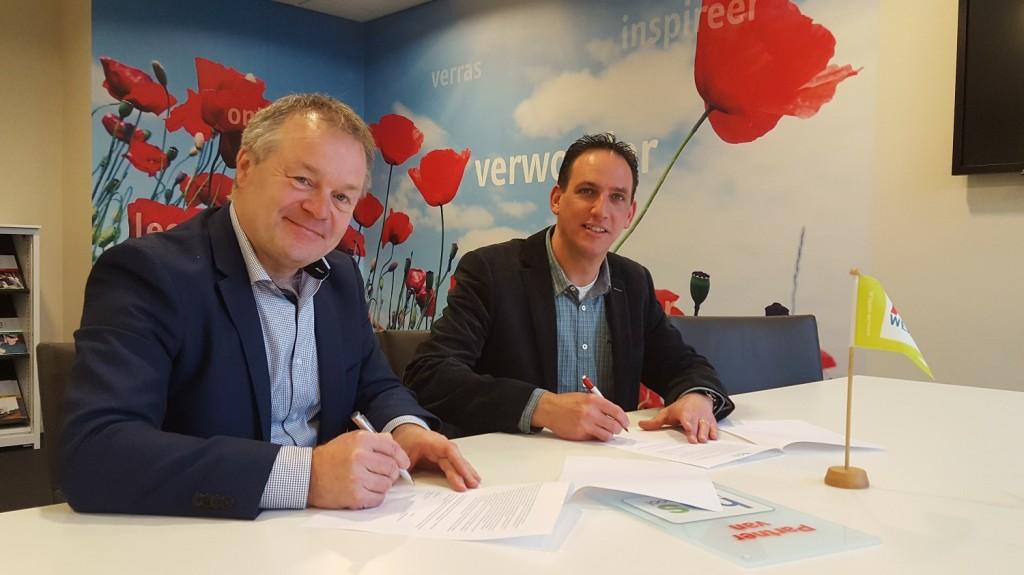 AB Werkt: ondertekening partnership HAS