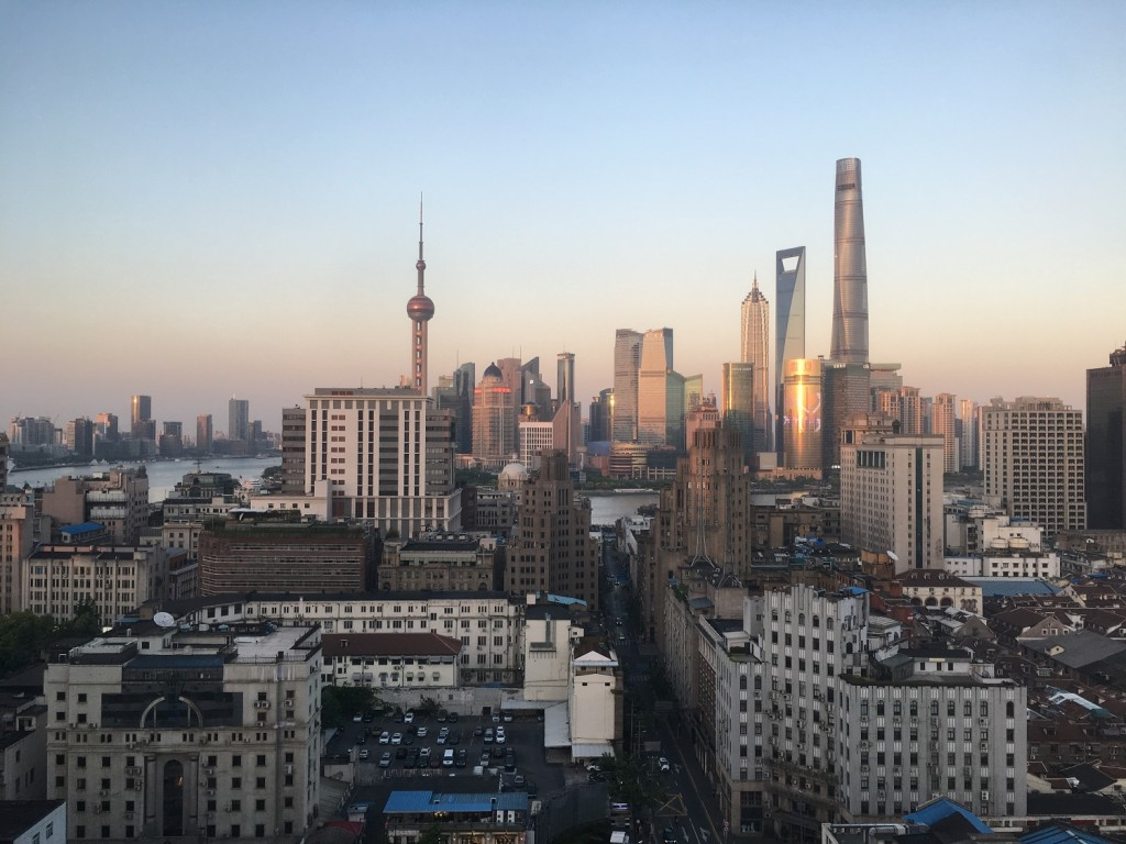 Brunel Shanghai Office View