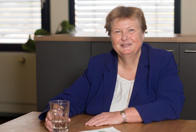 Brigitte van der Burg, voorzitter NBBU