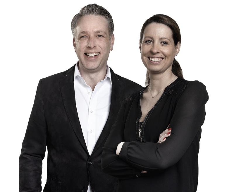 Jasper van der Haar en Marieke Pluim-Verburg