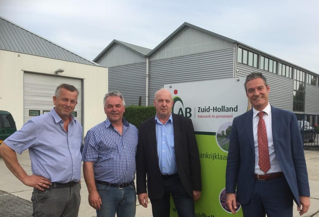 Foto bij persbericht Ronald Vollenberg nieuwe directeur AB Zuid-Holland