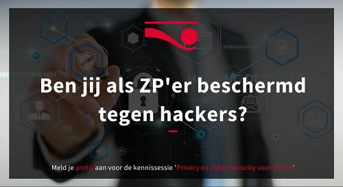 Kennissessie HeadFirst, Cyber Security en privacy voor zp'ers