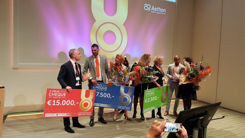 Verkiezing Uitzendondernemer van het Jaar 2017, de winnaars