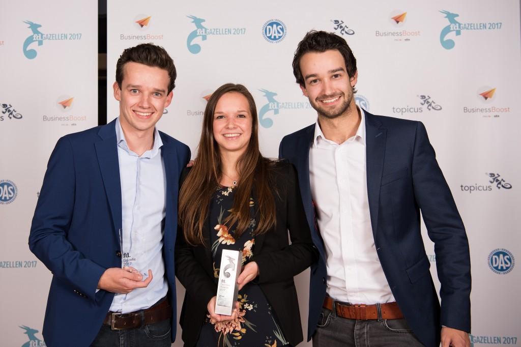 JAMwerkt ontvangt FD Gazelle Award