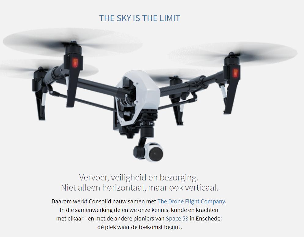 Consolid leidt drone piloten op