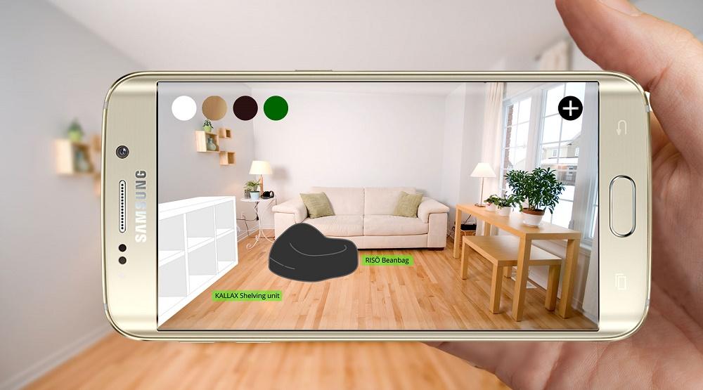 IKEA, toepassing augmented reality