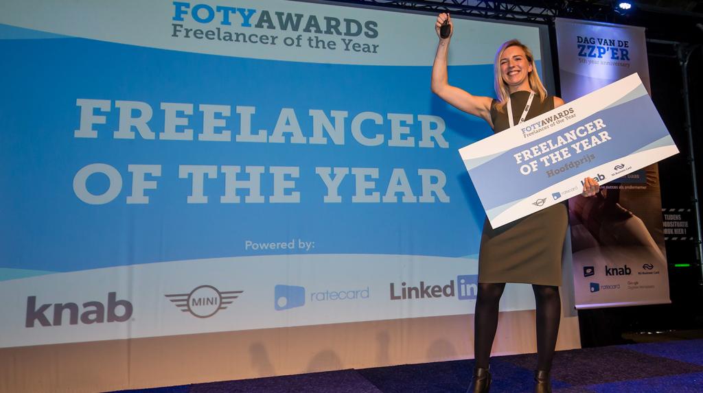 Britt van Smeerdijk, Freelancer of the Year 2018