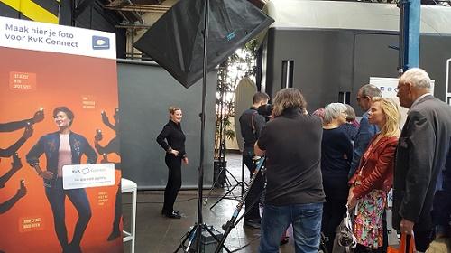 Dag van de ZZP'er, sponsor actie KvK Connect: 'maak hier je foto'