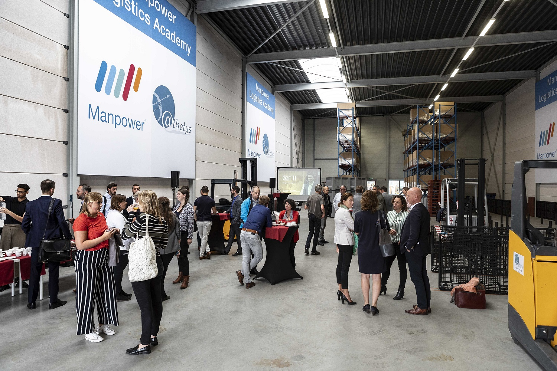 Opening Manpower Logistics Academy, Hillegom