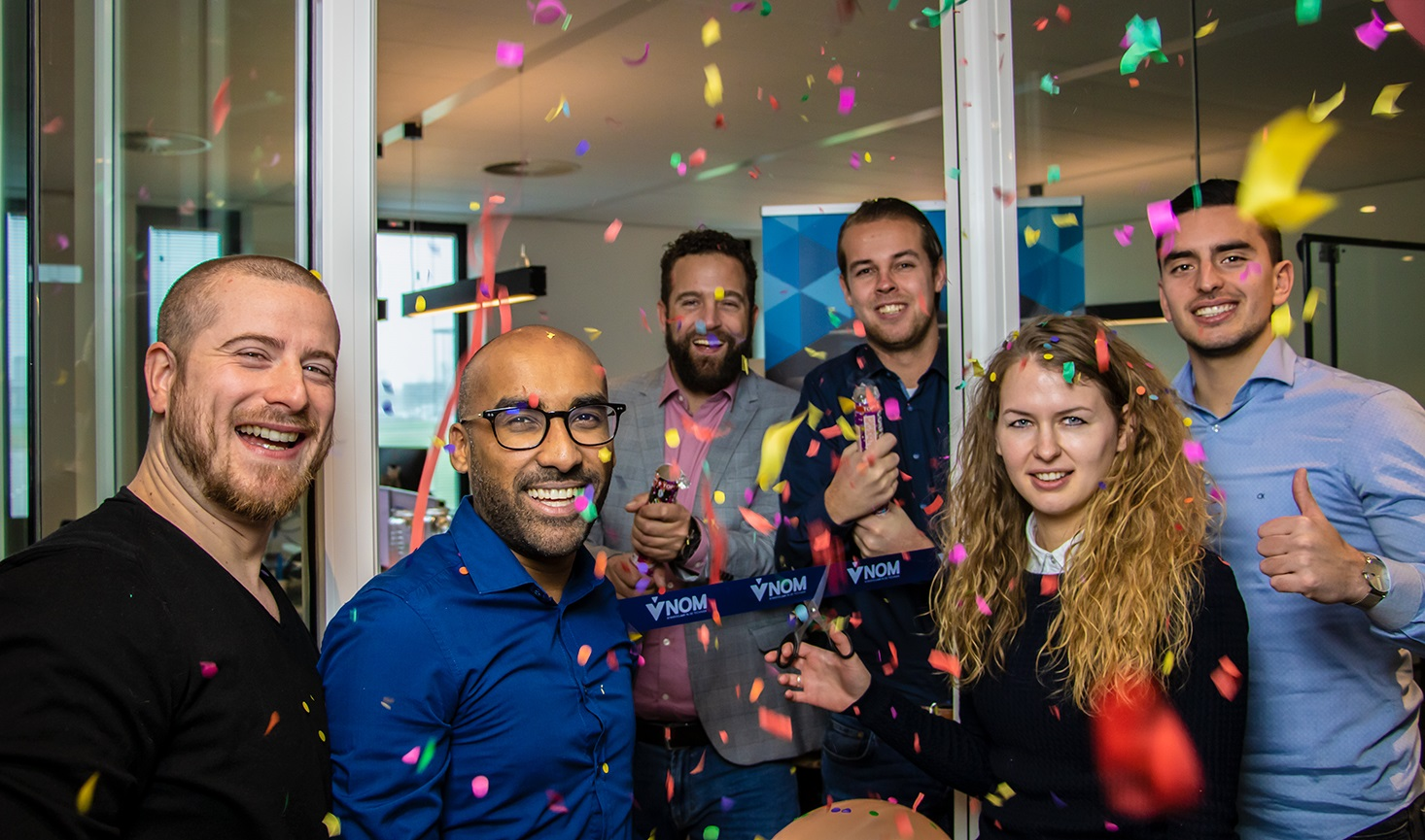 VNOM, feestelijke opening vestiging Utrecht