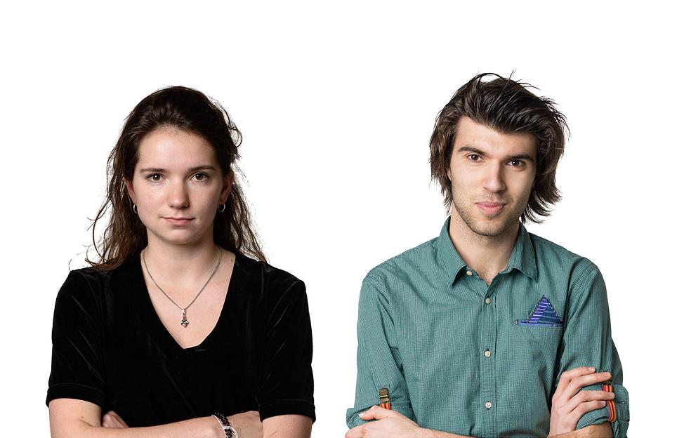 Franka van Dijken, Arian van Huis, consultants van Young Advisory Group