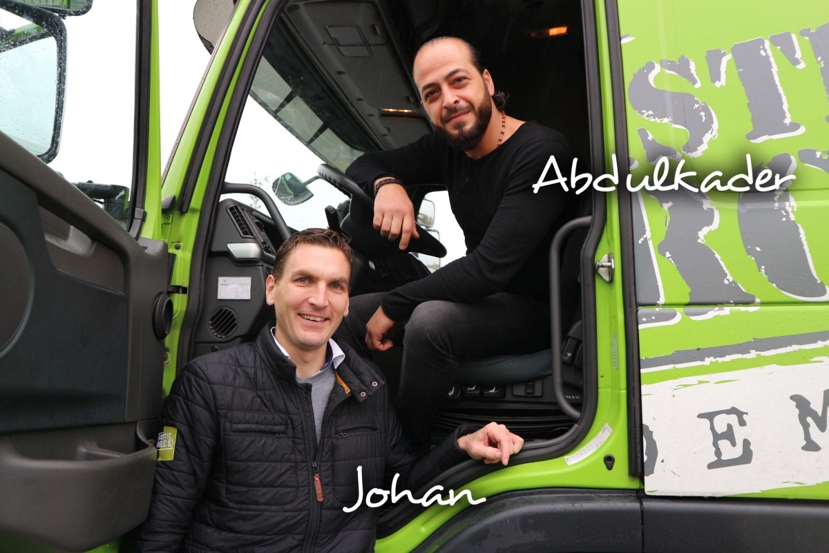 Johan en Abdulkader, Logistic Force