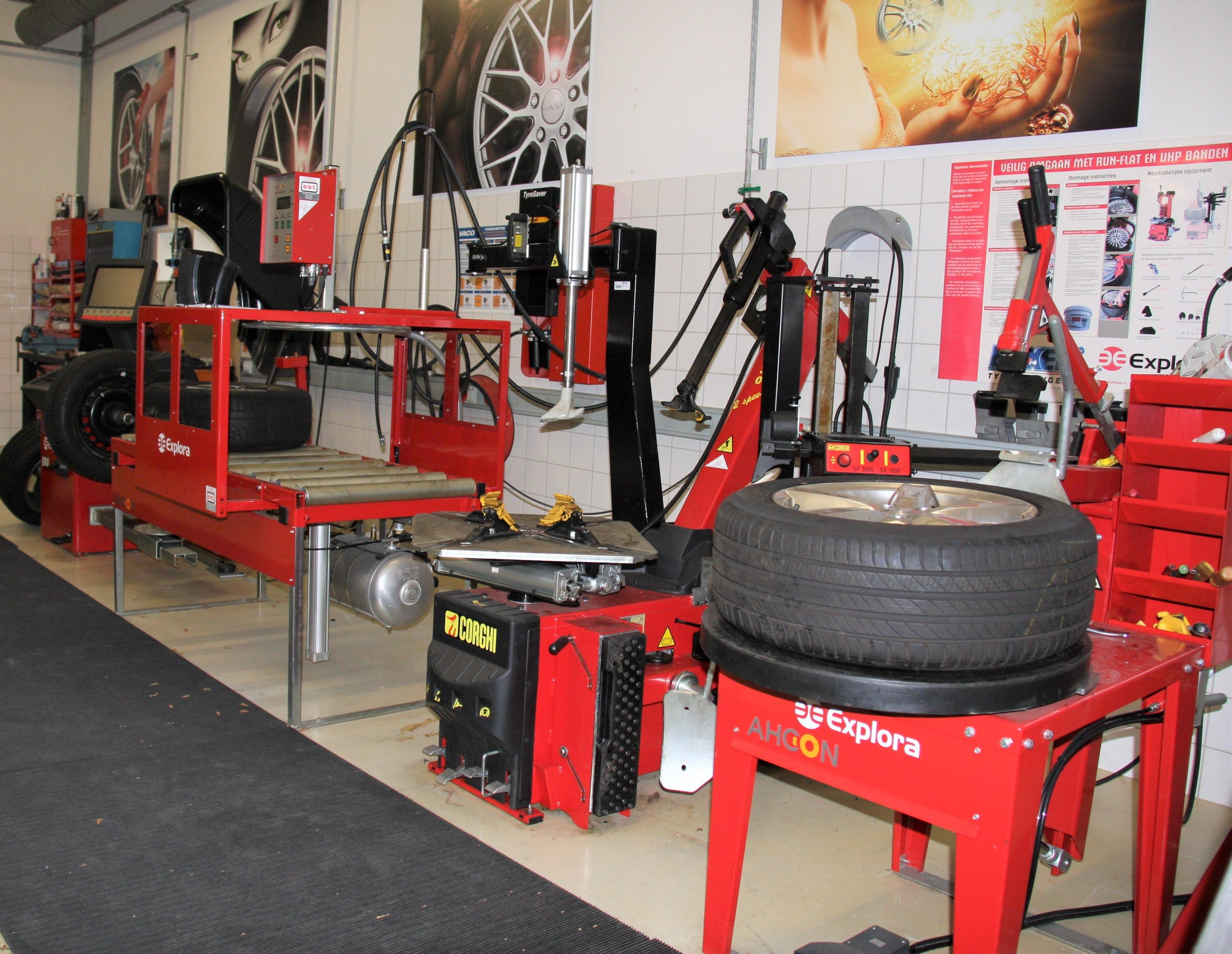 VACO, opleidingscentrum banden- en wielenbranche