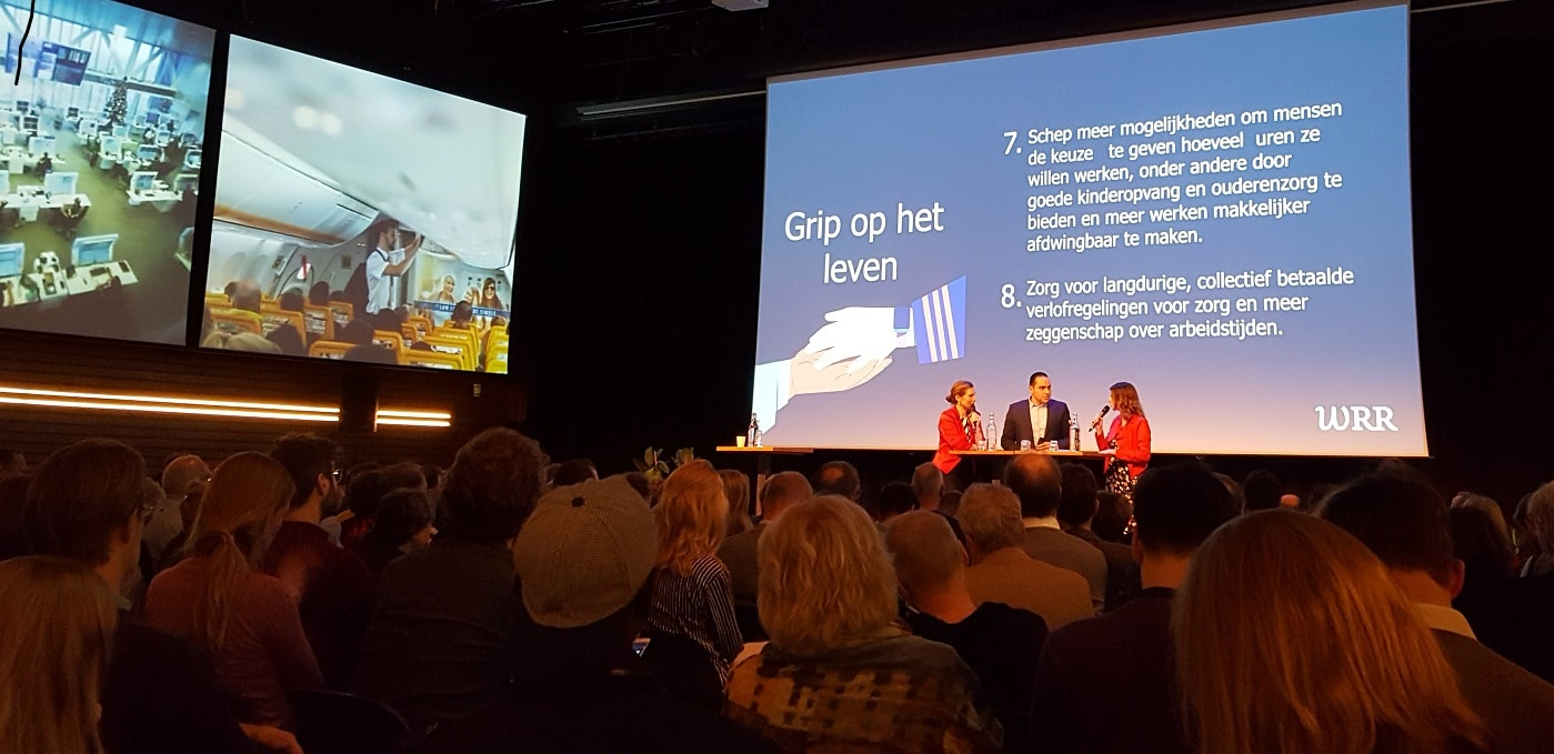 Presentatie WRR rapport Het betere werk
