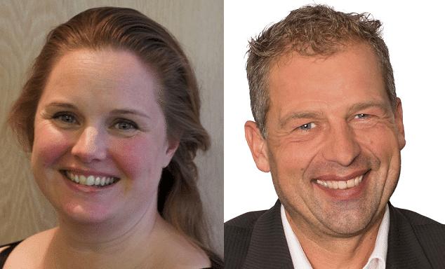 Pauline van Gasselt en Hans Scheers