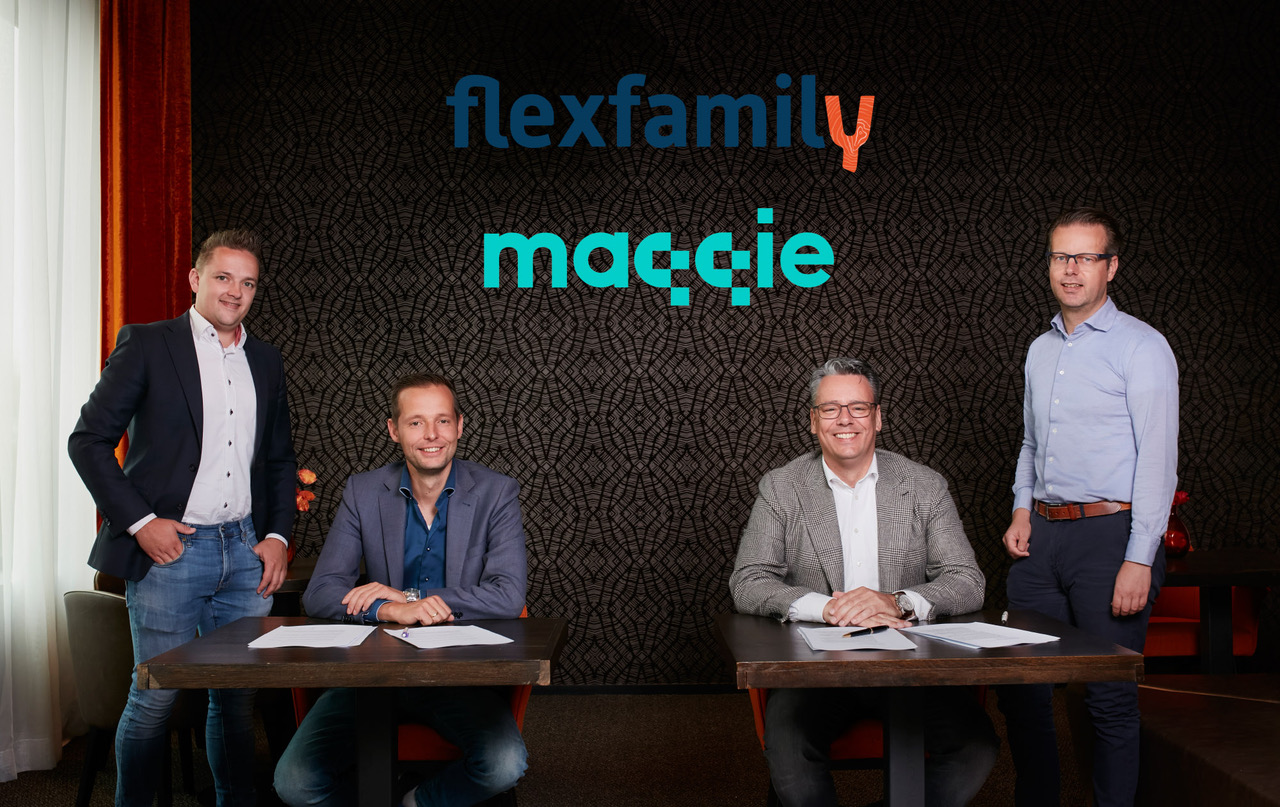 Flexfamily investeert in MAQQIE