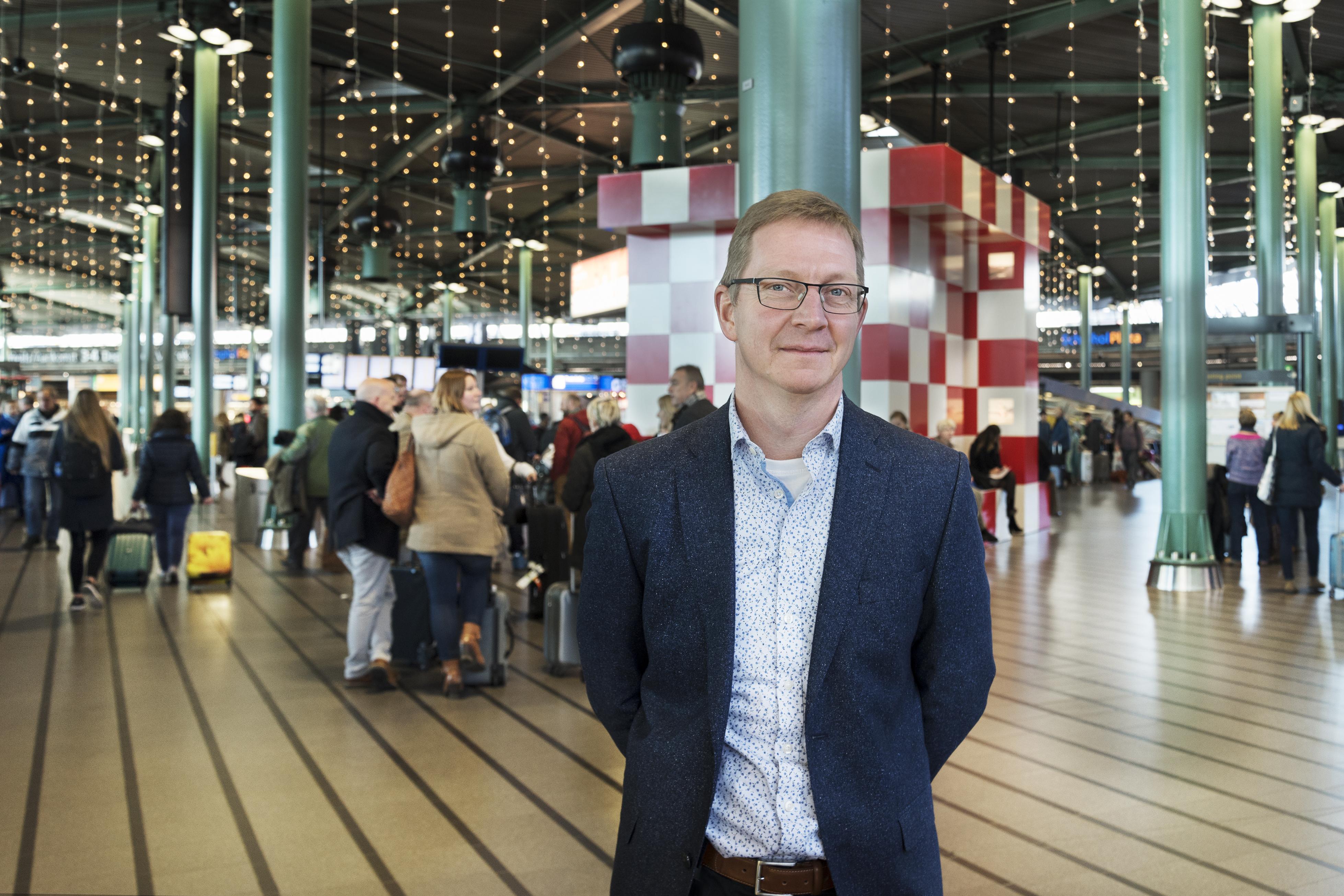 Jeroen Stolk, secretaris Sectorfonds Luchtvaart